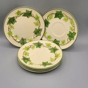 Bread & Butter Plates Ivy by FRANCISCAN